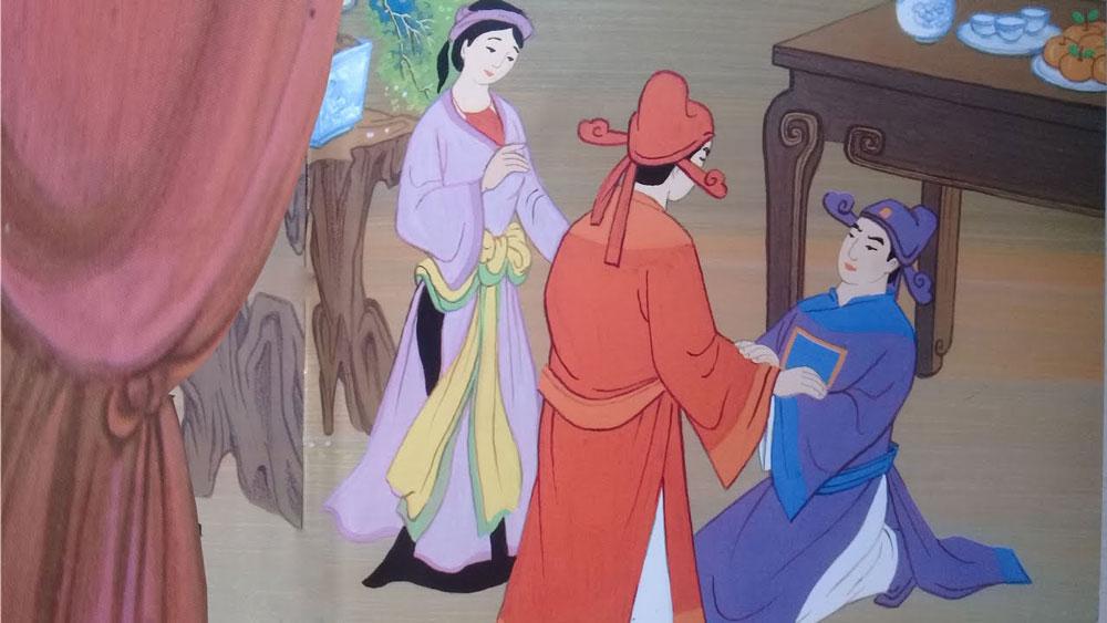 Chân dung hai người bạn Lưu Bình - Dương Lễ