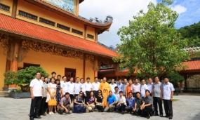 Lớp Cán Bộ Nguồn Các Tỉnh Thành Tại Học Viện Chính Trị Hồ Chí Minh Thăm Chùa Ba Vàng