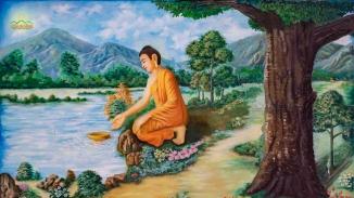 Tái hiện cuộc đời Đức Phật Thích Ca qua 37 bức tranh tại chính điện chùa Ba Vàng (Phần 2)